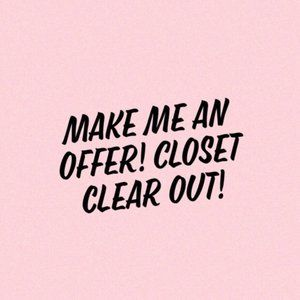 Closet Clear Out! Bundle & SAVE!